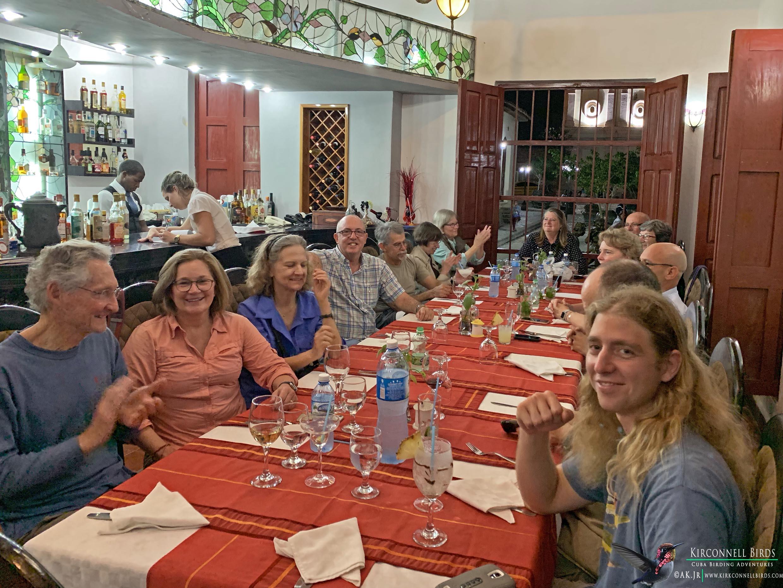 1-Cuba-birding-Tour-dinner-at-El-Paso