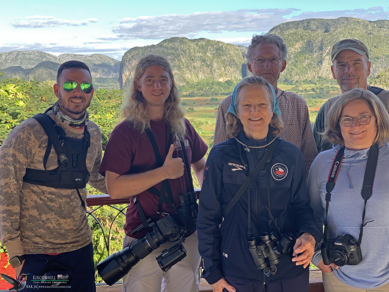 3-Cuba-Birding-Tour-Full-Group-at-Viñales